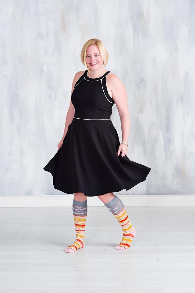 Tiffanie Kellog Sock Speaker